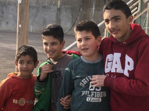 Bambini siriani guerra