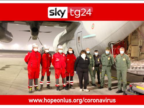 Hope Onlus su SkyTg 24