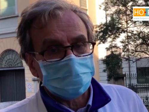 ecografo portatile ospedale milano coronavirus donazione